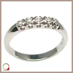 White Gold Ring Faith Engagement Ring Women's with Diamonds Bright Engagement
