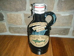 1/2 Gal 64 Oz Dogfish Head Hand Crafted Ceramic Growler Individually 362 Teal