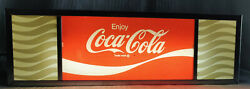 Vintage Coca Cola Light Up Signandnbsp Soda Fountain Machine Light Or Counter Top