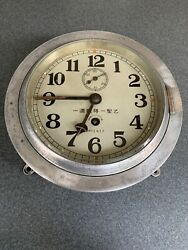 Japanese Navy Ship Borne Clock Single Item Antique From Japan