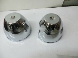 Emgo Brand Chrome Speedo And Tach Backing Cup Set For 73-80 Z1-kz Models