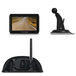 Furrion Vision S 4.3 Inch Wireless Rv Backup System With 1 Rear Sharkfin Camera,