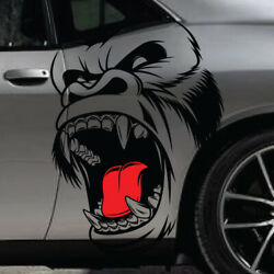 Gorilla King Kong Side Hood Decal Car Truck Vehicle Graphic Pickup Tailgate Boat