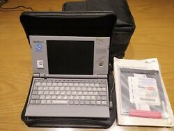 Toshiba Libretto 50ct In Fine Working Condition With Leather Case