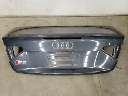 2008-2016 Audi S5 Cabriolet Convertible Trunk Deck Lid Shell Oem