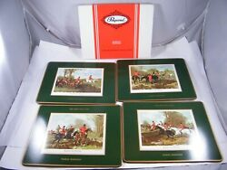 Pimpernel Placemats From The Green Shutters Restaurant Nassau Bahamas Lot Of 4
