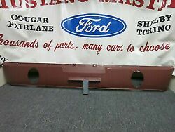 Nos 1965 C5zz 6540544-c Red Oxide Rear Valance 1966 Gt Dual Exhaust Rear Valance