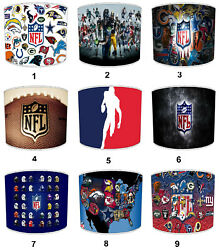 Nfl American Football Lampshades Ideal To Match American Football Duvets Covers
