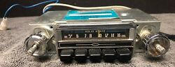 Rare Audiovox C-405 Solid State Am Car Radio Stereo Made In Japan Vintage