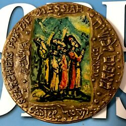 Search For The Messiah Bronze Medal State Of Israel Everlasting Love 70 Mm 1971