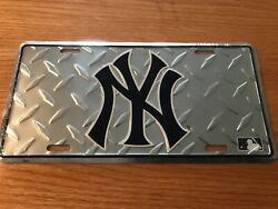 New York yankee car truck tag