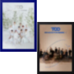Too Reason For Being인仁 Album 2 Ver Set 2cd+poster+2photo Book+6card+2preorder