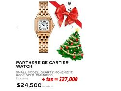 Cartier 4025 Panther NEW 2018 Diamond Gold WATCH 18kt Gold Panthere Real