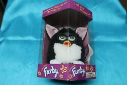 Furby 1998 Black And White 70-800 New In Box Never Opened  Rare Sng Misprint
