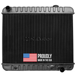 Chevy Truck 1963-66 L6 292 / V8 Radiator - 3 Row - Made In The Usa