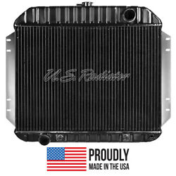 Ford Truck, 1965 V8 Radiator- 3 Row - Made In The Usa