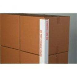 1600 - 3x3x48 .160 Do Not Double Stack Printed Edge Protector