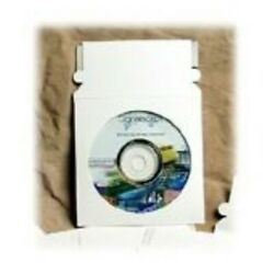 1000 - 5x5 Cd2ps Cd Mailer With Window White Self-seal