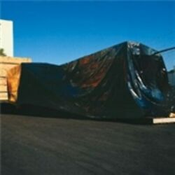 2 - 40and039x100` 4 Mil Heavy-duty Black Poly Sheeting Roll