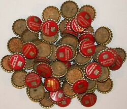 Soda Pop Bottle Caps Lot Of 100 Canada Dry Black Cherry Cork Lined New Old Stock