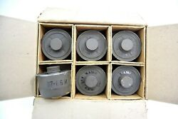 Belgian Army Replacement 40mm Filters Gas Mask Respirator Filter New Old Stock
