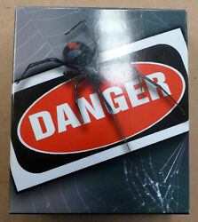 Tuvalu 2011 Red-back Spider Danger 1 Ounce Fine Silver Proof Coin Perth Mint