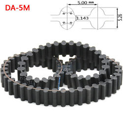 Da-5m Double Sided Tooth Close Loop Timing Synchronous Belt Pitch 5mm Width 15mm
