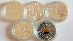 Germany 20 Euro Complete 2018 And 2019 Unc Bu 10 Coin Silver Sets Unc Nr