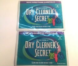 Dry Cleaner#x27;s Secret At Home Dry Cleaning Sheets 2 Pack Cleans 8 Garments