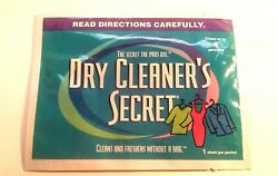 Dry Cleaner#x27;s Secret At Home Dry Cleaning Sheets Singles Cleans 4 Garments