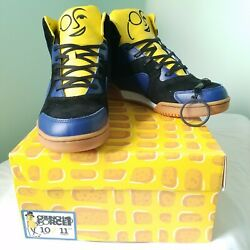Mr. Peanut Crunch Force 1 Sneakers Menand039s 10 New In Box Hi Tops Collectible