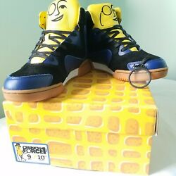 Mr. Peanut Crunch Force 1 Sneaker Sz 9 New In Box Hi Tops Collectible Planters