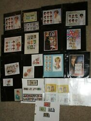 Lot Princess Diana Stamp Collection From Around The World Unused Grenada Cambodg