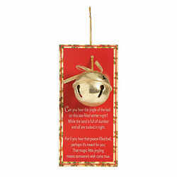 Legend Of The Jingle Bell Christmas Ornaments With Card - Home Decor - 12 Pieces