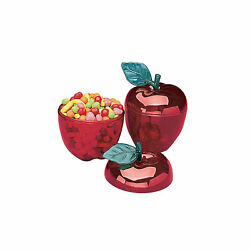 Red Apple Favor Containers - Party Supplies - 12 Pieces