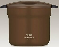 Thermos Vacuum Heat Insulation Cooker Shuttle Chef 4.3l For 4 19451 Japan