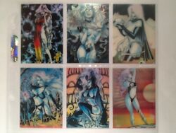 Lady Death 1994 Chromium Trading Card Sets And Chase Cards 295 Krome