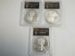 Must See Pcgs Silver Eagle Torch 18 W Fdoi Sp70 Locations Set Pop 40 Cleveland