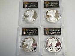 Must See Pcgs Silver Eagle Torch 18 W Fdoi Pr70 Locations Set Pop 25 Cleveland