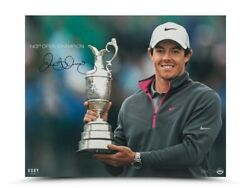 Authentic Rory Mcilroy Autographed Photo 16x20-143 Open Championship