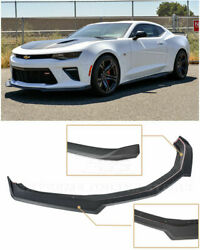 Eos Second Gen Refreshed Style Abs Front Lower Splitter Lip For Camaro Ss 16-19