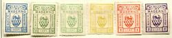 Italy Municipal Revenue Maderno 1st Issue, Og + Shade Variety  It1398