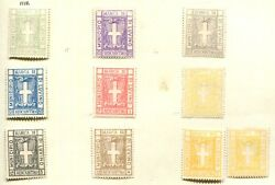 Italy Municipal Revenue Luvino 1st Issue Og Including A Shade  It1394