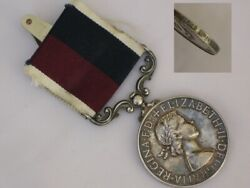 Very Nice Royal Air Force Long Service Good Conduct Full Size Medal.