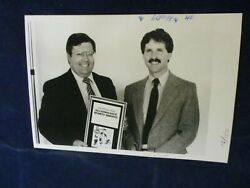 1986 Tom Cowell honored All Scholastic Sports Award Glossy Press Photo
