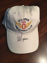 Webb Simpson Signed 2012 Us Open Golf Hat The Olympic Club