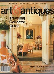 Summer 2005 Art And Antiques Magazine-traveling Collector Guide-hotel-112 Pages