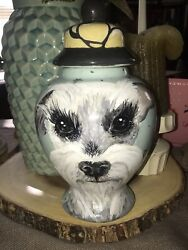 Custom  Terrier Pet Schnauzer URN DOG cremation ANY BREED med dog urn  Pet urn