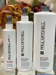 Paul Mitchell Soft Spray Gel Choose Your Size Limited
