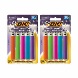 BIC Classic Lighter Fashion Assorted Colors 10 Pack